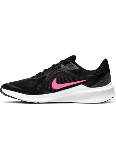 Nike Kız Çocuk Siyah Spor Ayakkabı CJ2066 - 002 Downshifter 10 Siyah